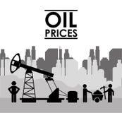 Цены на нефть Стоковые Фото