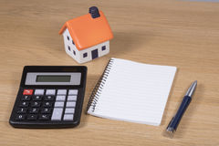 Цены покупать ваш дом мечты Стоковое Фото
