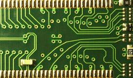 цепи закрывают компьютер вверх Стоковое фото RF