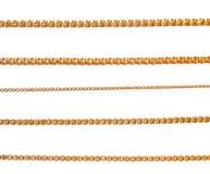 Цепи золота Стоковое Изображение RF