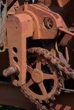 Цепи и шкивы стоковое изображение rf