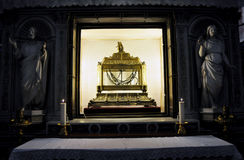 Цепи St Peter в Сан Pietro в церков Vincoli Стоковое фото RF