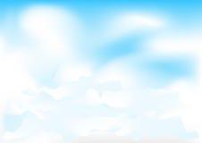 цепляет небо Стоковая Фотография RF