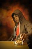 цепная курильщица Стоковая Фотография RF
