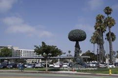 Цепная реакция, искусства Sata Моника Калифорния скульптуры Стоковая Фотография RF