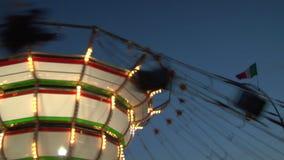 Цепное замедленное движение carousel акции видеоматериалы