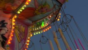 Цепное замедленное движение carousel сток-видео