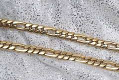 цепное золото Стоковое Изображение RF