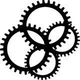 цепное колесо Стоковое Фото