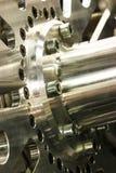 Цепное колесо хрома Стоковые Изображения RF
