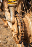 цепное колесо grunge Стоковые Фото