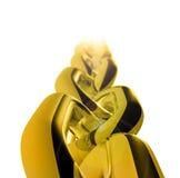 цепное соединение золота Стоковое Изображение