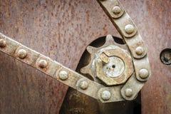 цепное цепное колесо Стоковые Фотографии RF