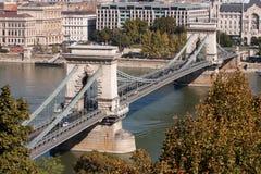 Цепной мост Стоковое Изображение RF