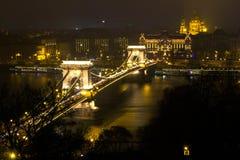 Цепной мост Стоковые Фотографии RF