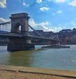 Цепной мост Стоковое Изображение