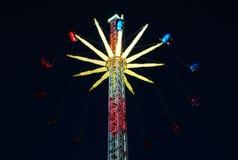 Цепной carousel Стоковая Фотография