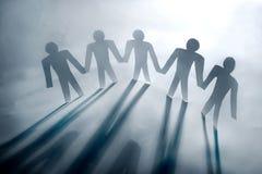 цепные люди Стоковое Изображение RF