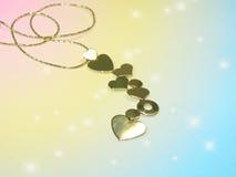 цепные сердца Стоковая Фотография RF