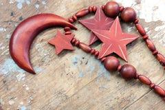 Цепь аравийской моды деревянная для женщины Стоковые Фото
