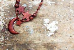 Цепь аравийской моды деревянная для женщины Стоковое Фото
