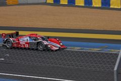 Цепь гоночного автомобиля Ле-Ман Стоковое Изображение RF