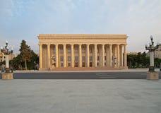 Цепь города Баку для европейца Grand Prix F1 Стоковое Фото