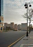 Цепь города Баку для европейца Grand Prix F1 Стоковая Фотография RF