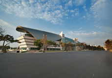 Цепь города Баку для европейца Grand Prix F1 Стоковое фото RF