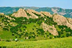 Цепь гор Стоковая Фотография