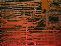 цепь доски электронная Стоковые Изображения