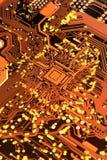 цепь доски электронная Стоковые Фото