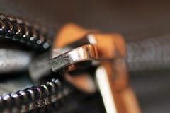 Цепь и застежка-молния Стоковое Изображение RF