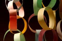 Цепь и связи в сработанности цвета стоковая фотография rf