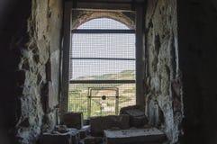 Цепь крепости с отверстием Стоковые Фото