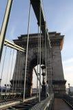 цепь моста Стоковая Фотография
