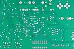 Цепь доски компьютера электронная Стоковое Изображение RF