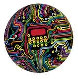 цепь сферически Стоковые Фотографии RF