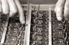 цепь электронная Стоковые Фотографии RF