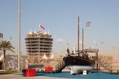 Цепь International Бахрейна Стоковое Изображение RF