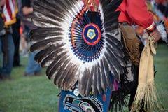 Церемониальные индийские headress Стоковое Фото