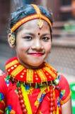 Церемония в Непале Стоковые Фотографии RF