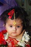 церемония есть первый рис Индии Стоковое Фото