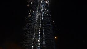 Церемония инаугурации Burj Khalifa акции видеоматериалы