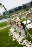 церемония напольная стоковая фотография rf