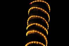 Церемония освещения дерева Стоковые Фото