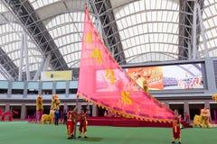 Церемония открытия нового гоночного сезона в Hong  Стоковая Фотография RF