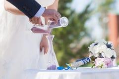 Церемония песка Стоковое Фото