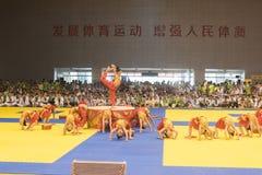 Церемония Представлени-отверстия--Конкуренция Тхэквондо восьмой чашки GoldenTeam дружелюбная Стоковое Изображение RF