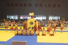 Церемония Представлени-отверстия--Конкуренция Тхэквондо восьмой чашки GoldenTeam дружелюбная Стоковая Фотография RF